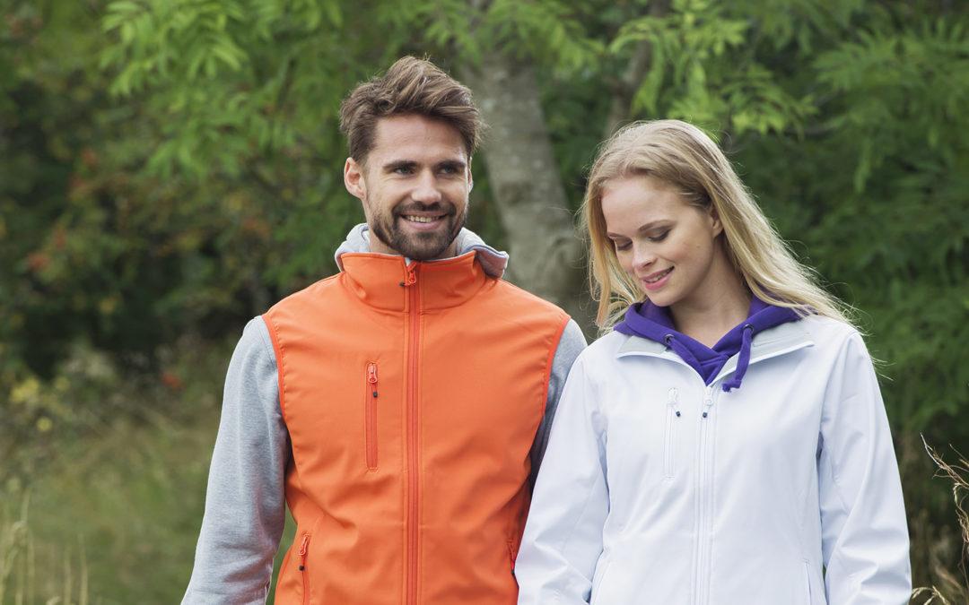 PRODUCT: Softshell jas, favoriet voor outdoor hippische activiteiten