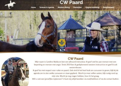 Bedrijf: CW Paard