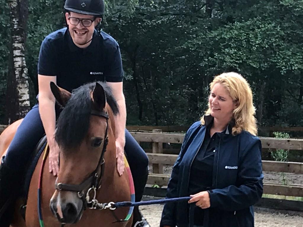 Stichting in beeld: bedrijfsleider Jenneke Nijhof, Prinses Maxima Manege
