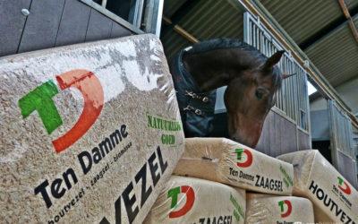 Ten Damme houtvezel: het ideale stalstrooisel!